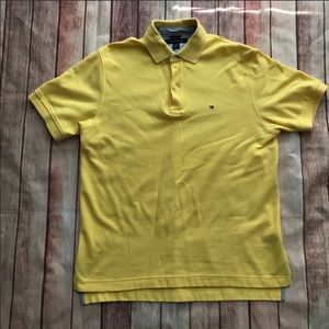 EUC Tommy Hilfiger Yellow Polo